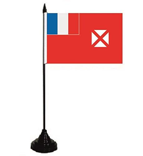 U24 Tischflagge Wallis & Futuna Flagge Fahne Tischfahne 10 x 15 cm