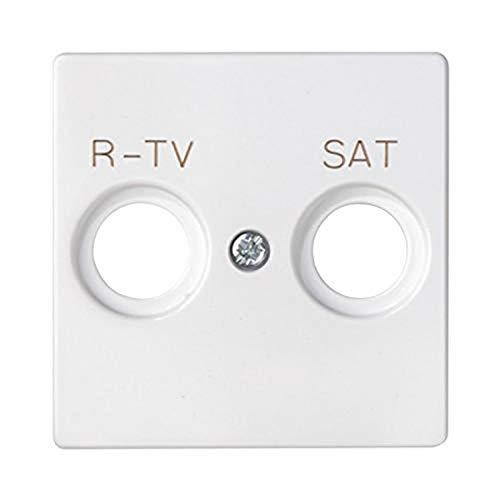 Simon - 82097-30 tapa toma r-tv+sat s-82 blanco Ref. 6558230261
