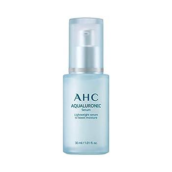Aesthetic Hydration Cosmetics AHC Face Serum Aqualuronic Hydrating Aqualuronic Korean Skincare 1.01 oz