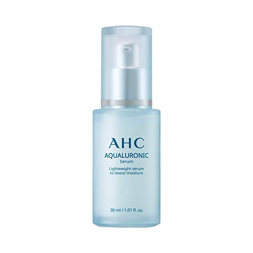 Aesthetic Hydration Cosmetics AHC Face Serum Aqualuronic Hydrating Aqualuronic Korean Skincare 1.01 oz