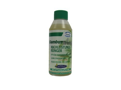 Bambus Kristall Hochleistungsreiniger 250ml - Hygiene - Fettlöser - Konzentrat für bis zu 25 Liter Allzweckreiniger