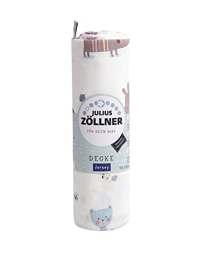 Jersey Decke Crazy Animals, 70x100 cm