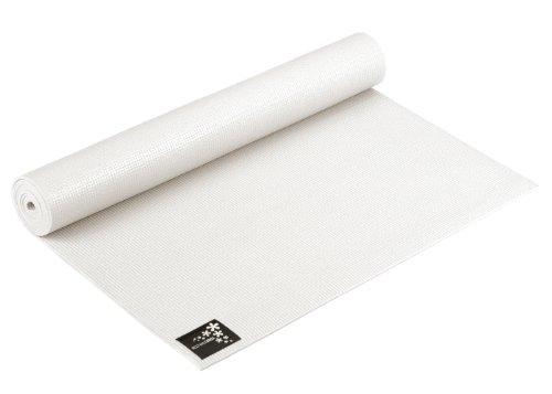 Yogistar Yogamatte Basic Esterilla de Yoga, Unisex, Blanco (Cocos White), 183