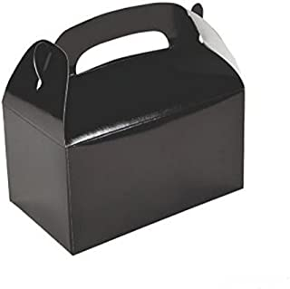2 DOZEN (24) BLACK TREAT BOXES BY DISCOUNT PARTY AND NOVELTY