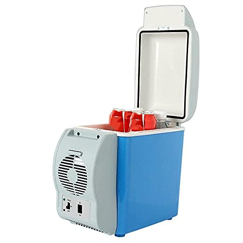 YY 12V 7.5L Portable CarMulti-Function Dual-Use Cooler Warmer Mini Frigorifero termoelettrico - con portabicchieri