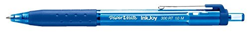 Paper Mate InkJoy 300RT Retractable Ballpoint Pens, Medium Point, Blue, 12-Count Photo #3