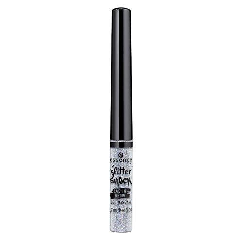 essence glitter shock lash&brow gel mascara 02