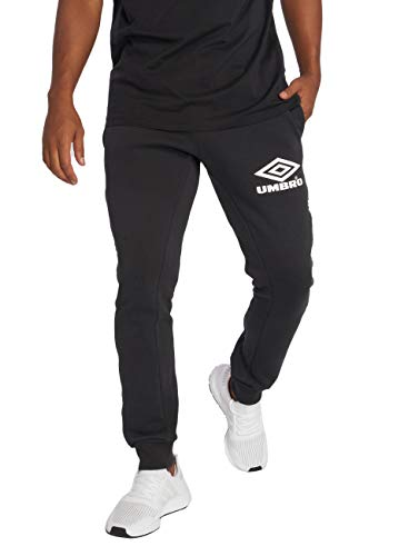 Umbro Jogger Herren Taped TAPARED FIT JOGPANT 060 Black, Größe:XL
