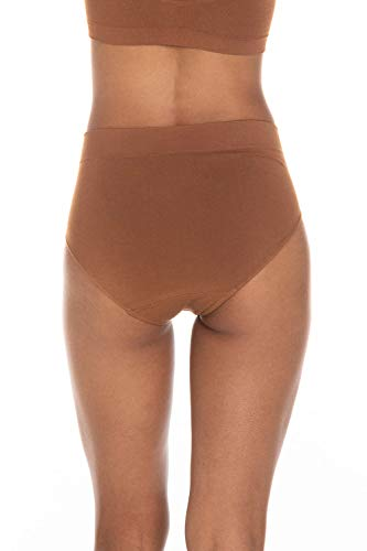 Body EcoWear Women's Full Brief - Bamboo Viscose - Comfy Full Coverage Underwear