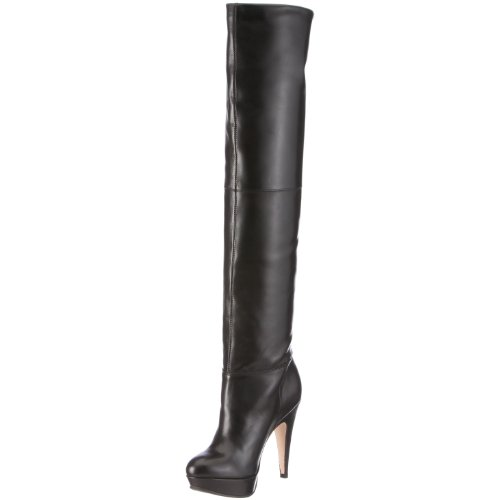 Buffalo 13639X-515, Bottes femme - Noir 01, 39 EU
