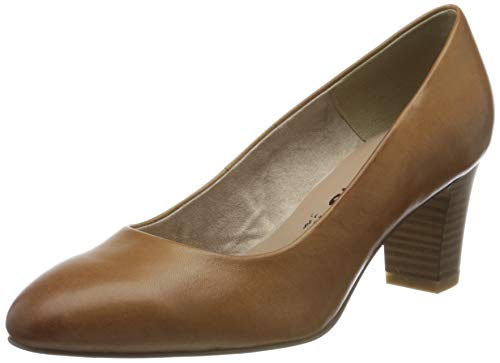 Tamaris Damen 1-1-22435-24 Pumps, Braun (Peanut 325), 41 EU