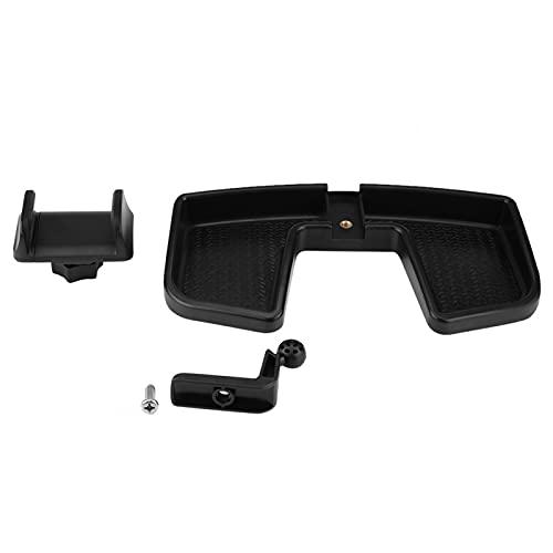 Soporte giratorio de 360 ° para el tablero del coche, soporte para teléfono celular, soporte para GPS con reemplazo de caja de almacenamiento ABS para Renegade 2014-2017