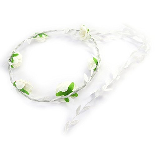 Les Trésors De Lily [M6464] - Couronne mariage 'Sissi' blanc
