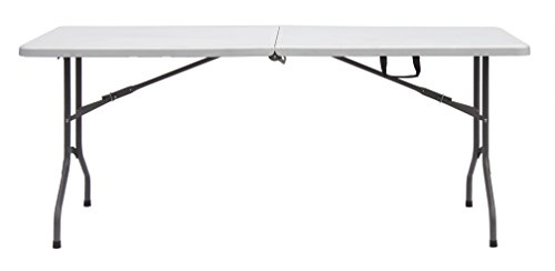 Sodiac Robusta multifunctionele campingtafel, 182 cm, inklapbaar, ideaal voor kamperen, antiquiteiten, buffetten, eenvoudige opslag, ruimtebesparend.