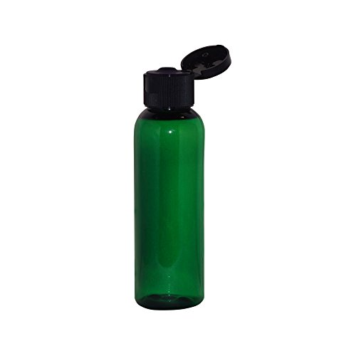 wolfmoon botanicals G2CBFTB WM (Paquete de 24) – Botella con tapa abatible de 2 oz, , 2 Ounce, Verde,, ]