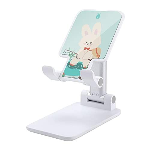 Dibujos animados verano teléfono celular soporte ángulo altura ajustable teléfono celular soporte para escritorio blanco-dibujos animados verano 4