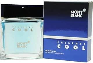 Presence Cool By M0ntblan Eau De Toilette EDT Spray For Men 1.7 fl oz / 50 ml