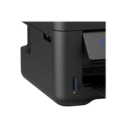Epson EcoTank ET-2750 Inyección de Tinta 33 ppm 5760 x 1440 dpi A4 WiFi - Impresora multifunción (Inyección de Tinta, 5760 x 1440 dpi, 100 Hojas, A4, Impresión Directa, Negro)