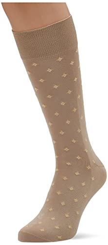 Hackett London Square P Sock Calcetines, 836stone, S para Hombre