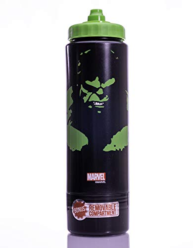Elite Officially Licensed Avengers Drinkware – 25 Ounce (740 ml) Hydrocase Squeeze Bottle (Hulk)