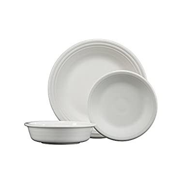 Fiesta 3-Piece Classic Place Setting in White