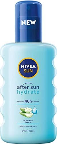 NIVEA Nivea After Sun Soothing Spray Hydrate Moisturizer, Aloe Vera, 1 Count
