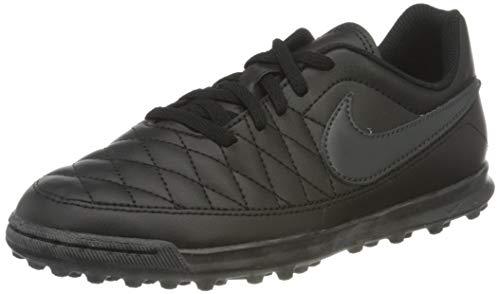 Nike Jr Majestry TF, Zapatillas de fútbol Sala Unisex Adulto, Multicolor (Black/Anthracite/Black 001), 36.5 EU