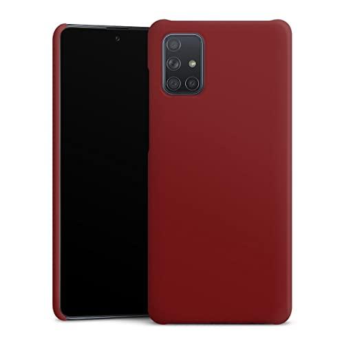 DeinDesign Custodia Premium Compatibile con Samsung Galaxy A71 Cover per Smartphone Custodia Opaca Colore Motivi per Personalizzare Il Tuo Bimby Natale