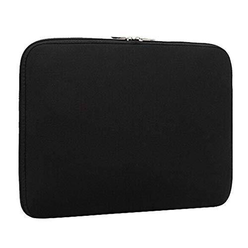 Neopreno Funda Protectora Resistente Choque y Agua para 13-13.3 Pulgadas Portátil Acer/ASUS/DELL/Fujitsu/Lenovo/HP/Samsung/Sony Toshiba,Negro