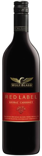 6x Wolf Blass - Red Label Shiraz Cabernet Sauvignon, Australien - 750ml
