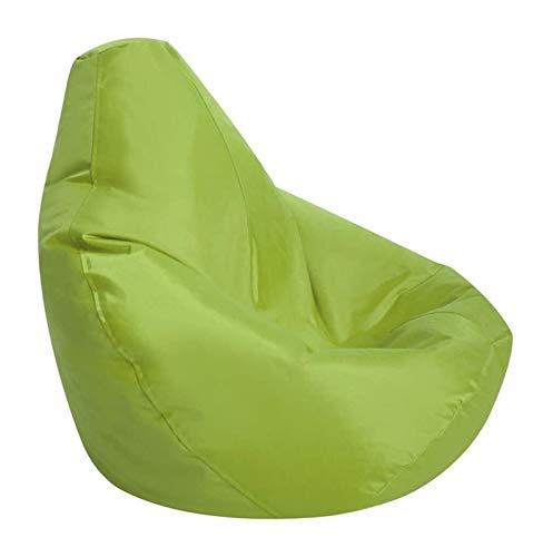 yxx Puf Bolsa de Frijoles Cubierta de sofá, protección de Muebles de Servicio Pesado Anti-UV Impermeable for niños y Adultos Silla de Juego de salón cómodo (Color : Green)