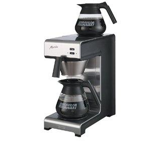 Heavy Duty Filter Kaffeemaschine selbst feuchtigkeitsregulierend 2.1kW manuell Befüllen. Zwei Hot Teller.–gewerblichen Küche Restaurant Cafe Bistro Pub Bar Krug Filter Kaffeemaschine