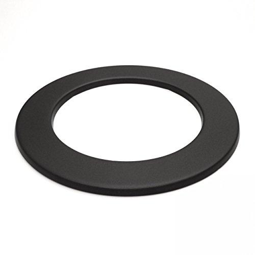 raik SH010-120-sw Rauchrohr/Ofenrohr 120mm - Wandrosette schwarz
