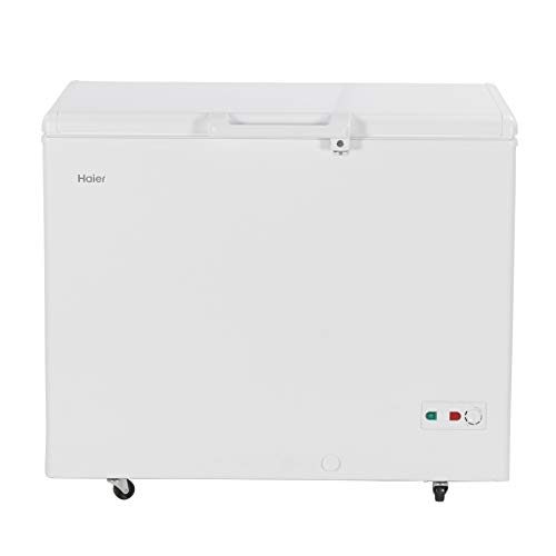Haier - Single Door Hard Top Deep Freezer HCC 345HC, 319 liters, White, Convertible