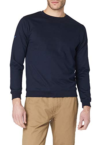 Trigema Herren 674501 Sweatshirt, Blau (Navy 046), XXXX-Large