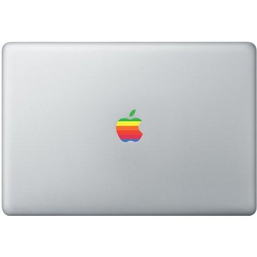 Apple Macbook retro logo decal multicolour sticker art for 11',13', 15', 17' laptop.