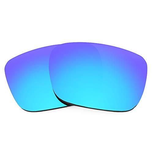 Revant Lentes de Repuesto Compatibles con Gafas de Sol Spy Optic Helm, Polarizados, Azul Hielo MirrorShield