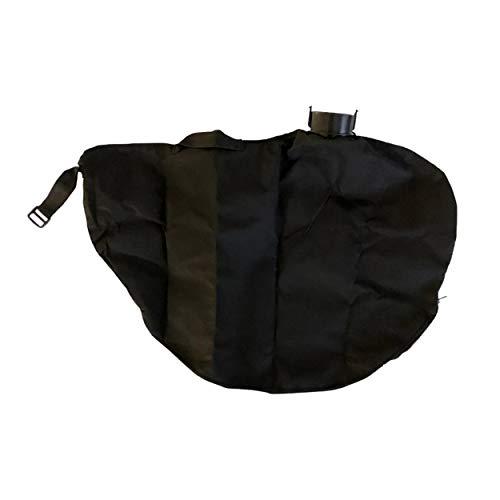 Fangsack rund Laubsack Ersatz Fangsack passend für OBI Baumarkt CMI Elektro-Laubsauger Laubbläser 3in1 C-ELS-2500 Cels2500 mit Reißverschluss und Tragegriff