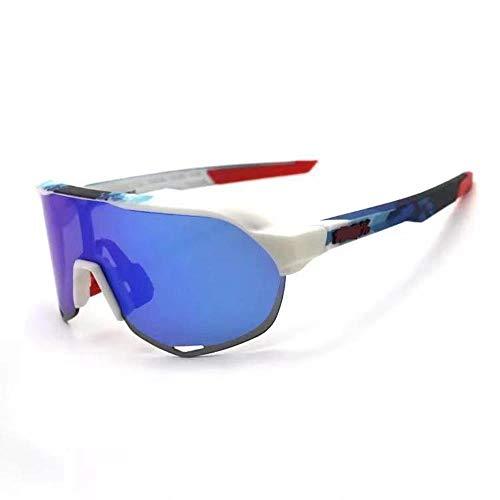 Mazu Homee Gafas de sol de montañismo deportes al aire libre gafas de bicicleta gafas de montar a caballo gafas de arena a prueba de viento (varios