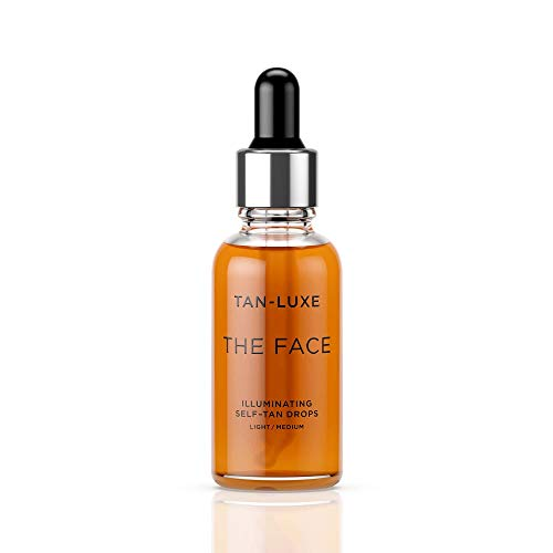 TAN-LUXE The Face - Illuminating Self-Tan Drops to Create Your Own Self Tanner, 30ml - Cruelty &...