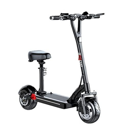 SMDD Scooter eléctrico de Alta Potencia de 500W, Scooters Plegables de 50 km/h, Bicicleta de Carga de 300 kg de Carga, Bicicletas asistidas por el Poder de los Adultos, vehículo de batería de