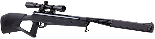 Benjamin BTN2Q2SX Trail Stealth Nitro Piston Elite-Powered 22.-Caliber Break Barrel Air Rifle With SBD Platinum And 3-9x32mm Scope, Black
