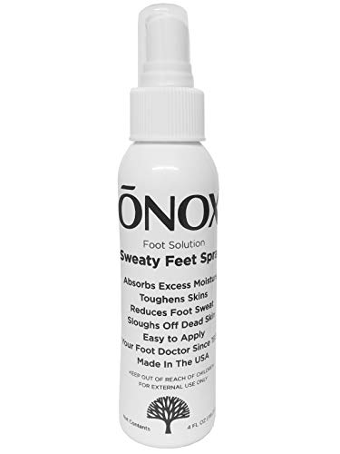 ONOX FOOT SOLUTION - SWEATY FEET SPRAY