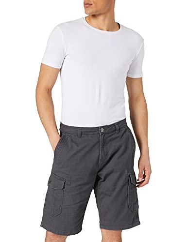 TOM TAILOR Herren 1026183 Relaxed Morris Cargo Bermuda Shorts, 10899-Tarmac Grey, 36