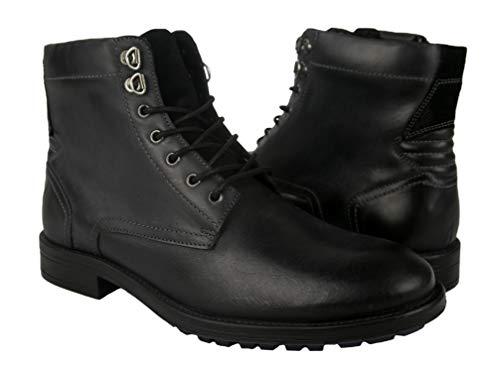 Zerimar Botas Hombre Piel   Botines Hombre  Botas Hombre Altas Cuero  Botas Hombre Altas Piel   Botines Hombre Altos   Zapatos Hombre Cuero