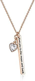 Mestige Necklace with Swarovski Crystals for Women - MSNE3612