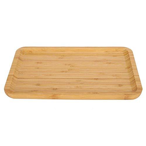 Vajilla, bandeja para servir, sin molde Bandeja para servir de bambú hecha a mano para la cocina casera