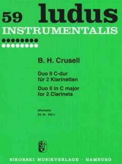 DUETT 2 C-DUR - arrangiert für zwei Klarinetten [Noten/Sheetmusic] Komponist : CRUSELL BERNHARD HENRIK