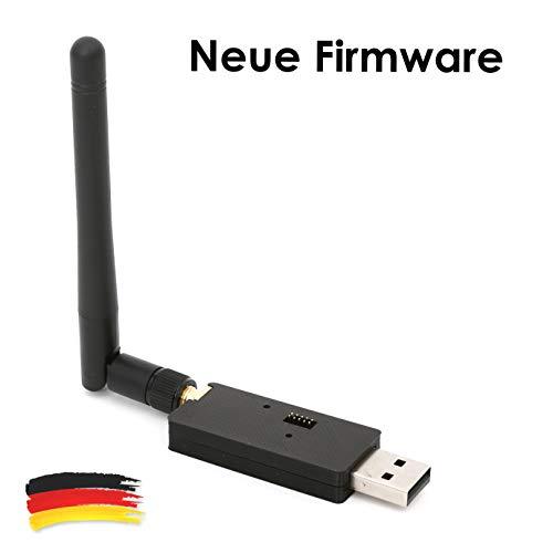 CC2531 ZigBee USB-Sick zigbee2mqtt ioBroker FHEM openHAB SMA Antenne + Firmware - Gehäuse