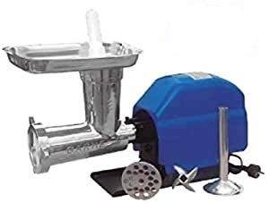 Garhe Picadora-embutidora eléctrica Nº 32 con Cabezal Inoxidable GR10 120 RPM 2 HP